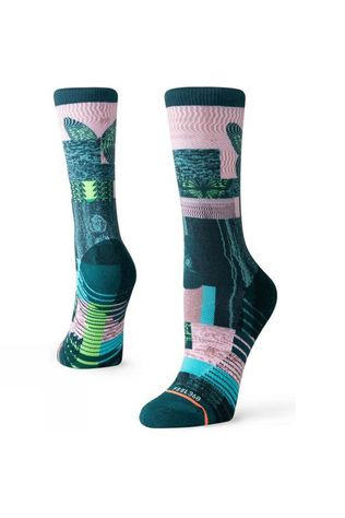 Stance Women's Painted Lady Crew Green