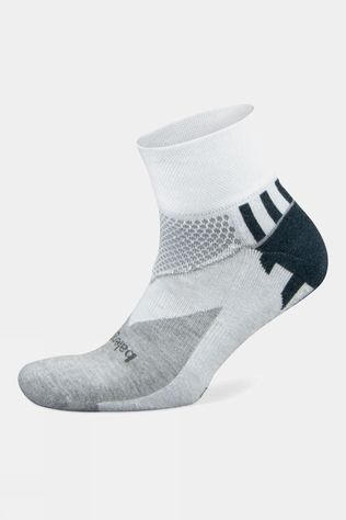 Balega Women's Enduro Low Cut Socks White/Mid grey