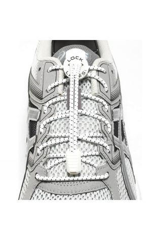 Nathan Run Lock Laces White