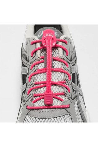 Nathan Run Lock Laces Neon Yellow Hot Pink