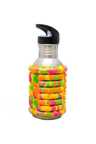 Addaday Foam Roller Water Bottle Multi Coloured