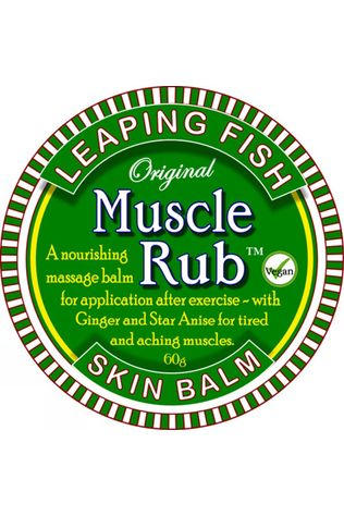 Leaping Fish Muscle Rub Silver