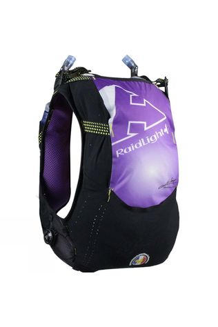 Raidlight Gilet/Vest Responsiv 10L Lady + 2 Flasks 600ml Black/Purple
