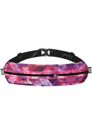 Fitletic  Bolt Fit Running Pouch Pink/Tri Print