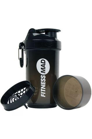 Fitness Mad Smartshake Shaker Bottle Black