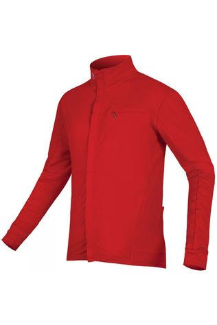 Endura Mens Xtract Roubaix Long Sleeve Jersey Red