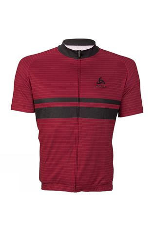 Mens Active Stripe Print Jersey