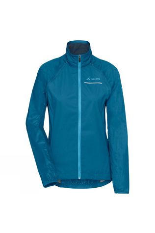 Vaude Womens Windoo Pro ZO Jacket Kingfisher