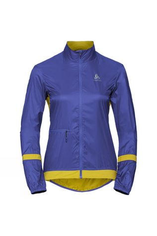 Odlo Womens Fujin Light Jacket Clematis Blue - Antique Moss