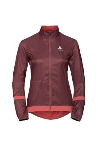 Odlo Womens Fujin Light Jacket Roan Rouge - Faded Rose