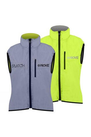Proviz Womens Switch Gillet  Reflective/Yellow