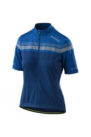 Altura Womens Nightvision Short Sleeve Jersey BLUE/ROYAL BLUE