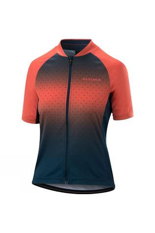 Altura Womens Airstream Short Sleeve Jersey Blue / Coral