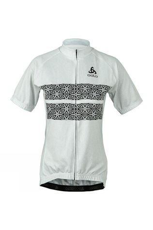 Womens Active Mosaic Print Jersey