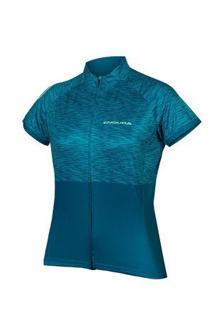 Endura Womens Hummvee Ray Short Sleeve Jersey II KINGFISHER