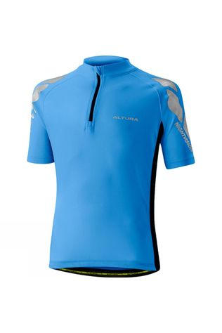 Altura Kids Nightvision Short Sleeve Jersey BLUE/BLACK