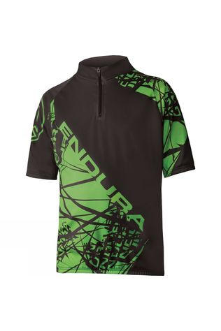 Endura Hummvee Jersey Black          /Green