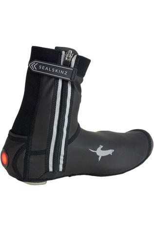SealSkinz All Weather LED Open Sole Cycle Overshoe Black
