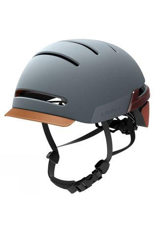 Livall BH51T Safety Helmet Misty Blue
