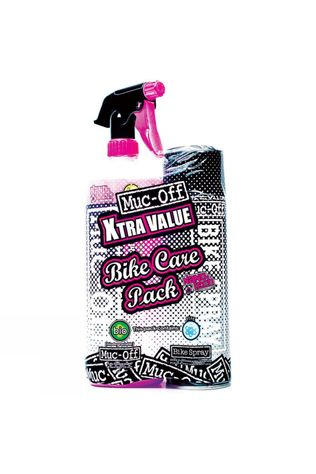Muc-Off Bike Cleaner 1L & Bike Protect 500ml Black          /Mid Pink
