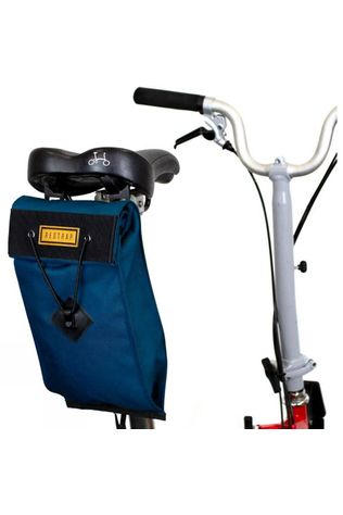 City Saddle Bag - Large (For Folding Bikes)