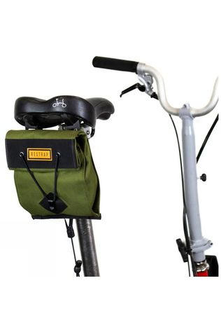 Restrap City Saddle Bag - Small (For Folding Bikes) Khaki