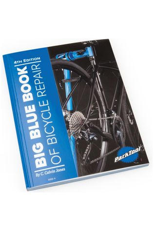 Park Tools Blue Book Of Bicycle Maintenance 4th Edition Blue