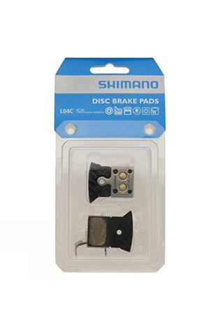 Shimano Shimano R805/R505 L04C disc pads, with cooling fins, metal sintered No Colour