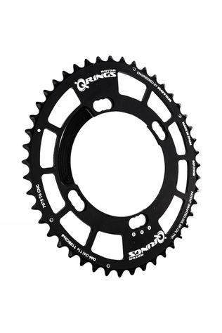 Rotor Q-Ring 34 Tooth 110x4 bolt Shimano Inner Chainring Black