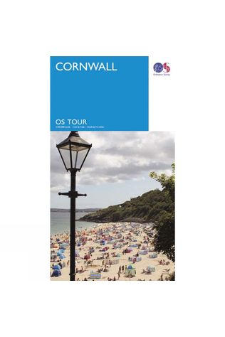 Cornwall Tour Map