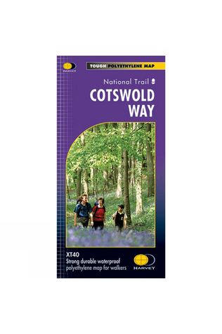 Harvey Maps Cotswold Way Map 1:40K No Colour