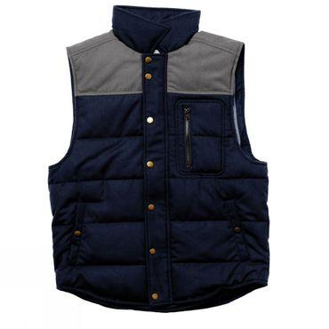 Mens Drummond Colorblock Wool Vest