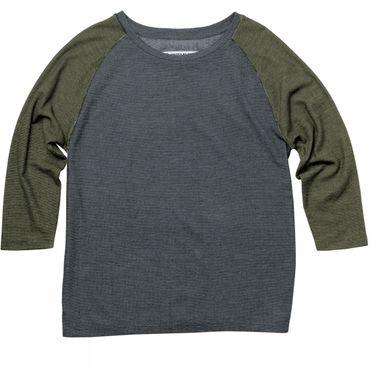 Womens Raglan Colorblock Pullover