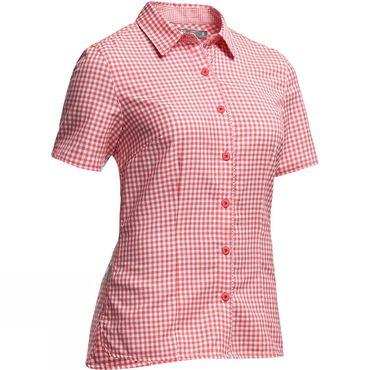 Womens Destiny Short Sleeve Shirt Check