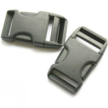 25mm Side Squeeze Buckles (x2)