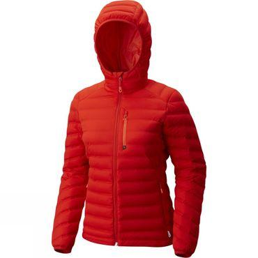 Womens StretchDown Hooded Jacket