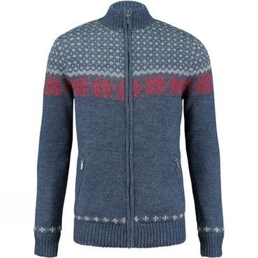 Mens Nordic Wood Knit Jacket