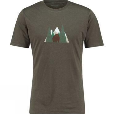 Mens Forest Bear T-Shirt