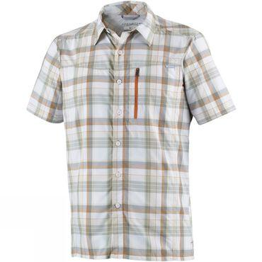 Mens Silver Ridge Plaid Short Sleeve Shirt