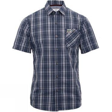 Mens Short Sleeve Check Shirt