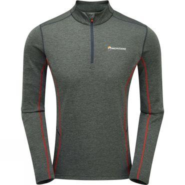 Mens Dart Zip Neck Tee