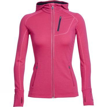 Womens Quantum Long Sleeve Zip Hood