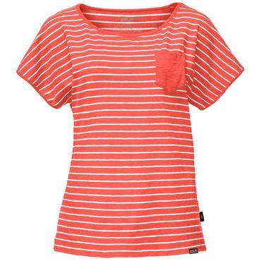 Womens Travel Striped Tee