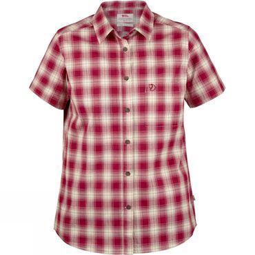 Womens Övik Check Short Sleeve Shirt