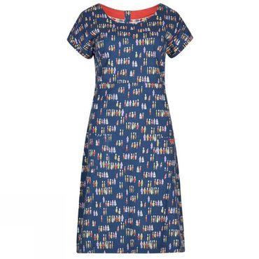 Womens Tallahassee Printed Jersey Dress