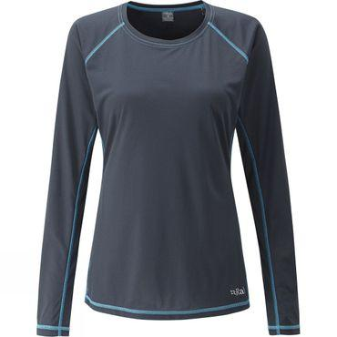Womens Interval Long Sleeve Crew