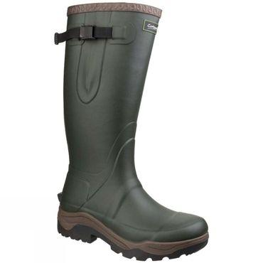Mens Compass Neoprene Rubber Welly