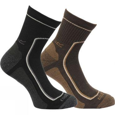 Mens Active Lifestyle Sock (2 pairs)