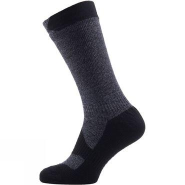 Mens Walking Thin Mid Socks