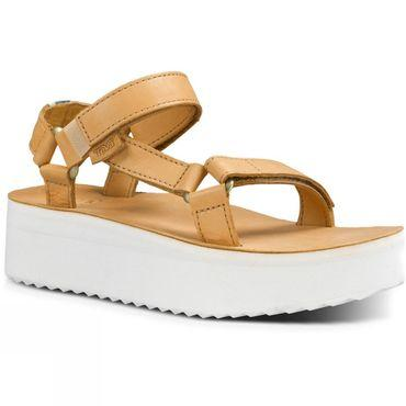 Womens Flatform Universal Crafted Sandal